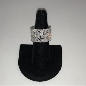 10ctw Trillion Baguette Ring